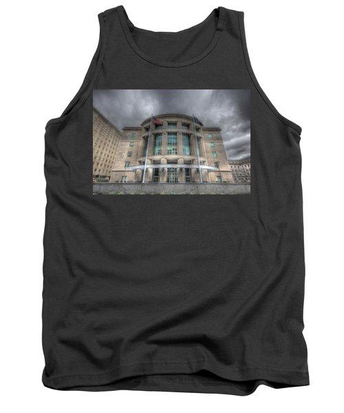 Pennsylvania Judicial Center Tank Top by Shelley Neff