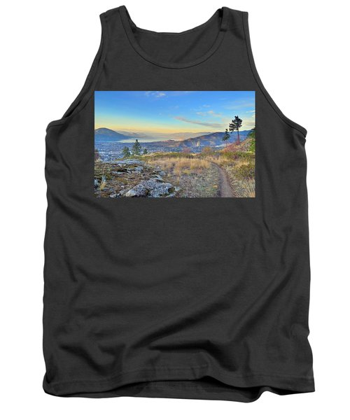 Tank Top featuring the photograph Penticton In The Distance by Tara Turner