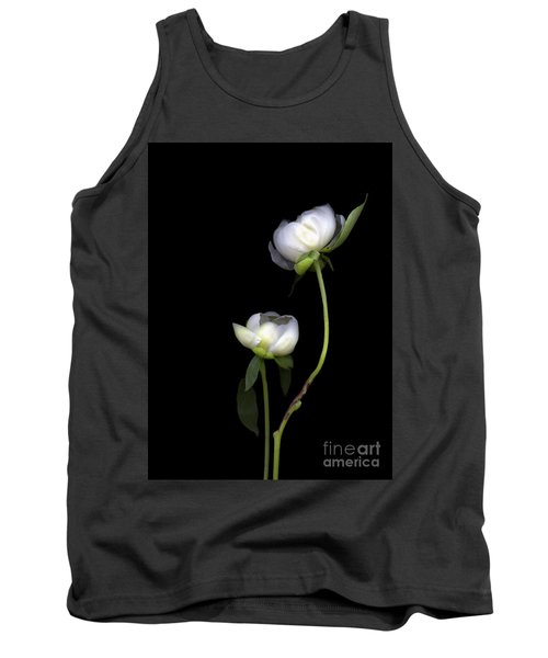 Peonies Tank Top by Christian Slanec