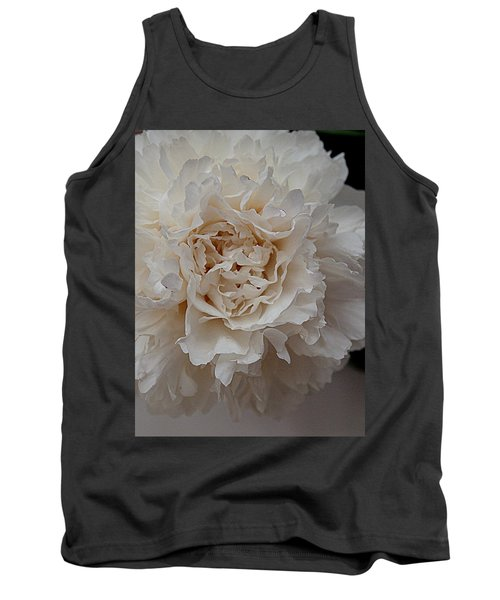 Tank Top featuring the photograph Peony Petals by Nancy Kane Chapman
