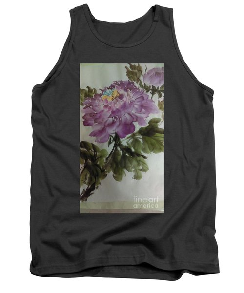 Peony20170126_1 Tank Top by Dongling Sun