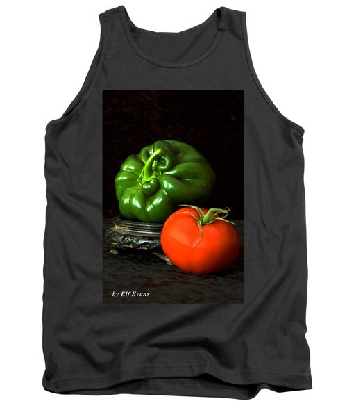 Pepper And Tomato Tank Top by Elf Evans