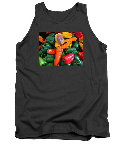 Pepper Medley 2 Tank Top by Dee Flouton