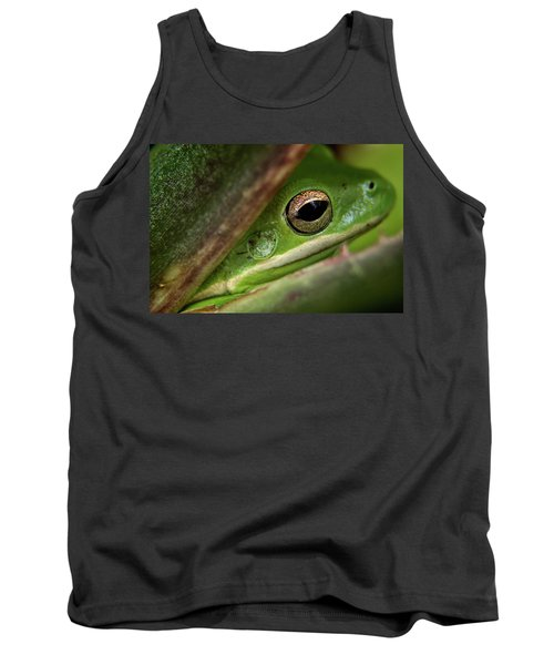 Frogy Eye Tank Top by Denis Lemay