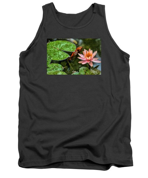 Perfect Beauty And Koi Companion Tank Top