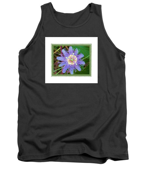 Perfect Passion Flower 2 Tank Top by Shirley Moravec