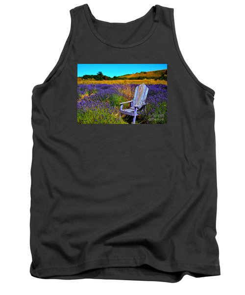 Perfect Purple  Tank Top by Tanya  Searcy