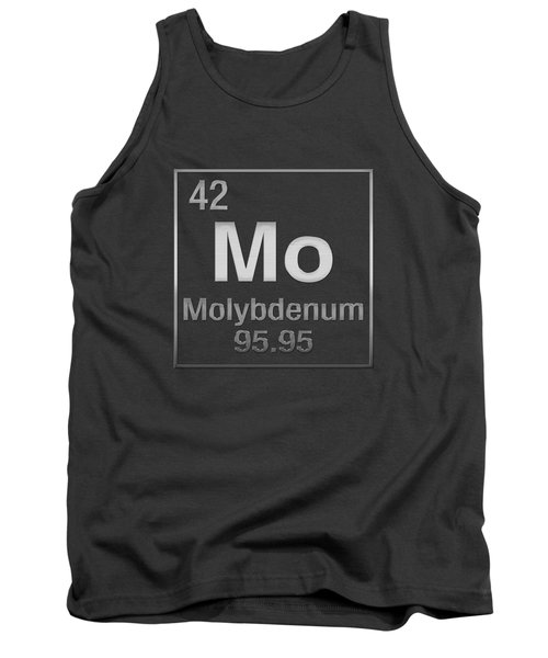 Periodic Table Of Elements - Molybdenum - Mo - On Molybdenum Tank Top