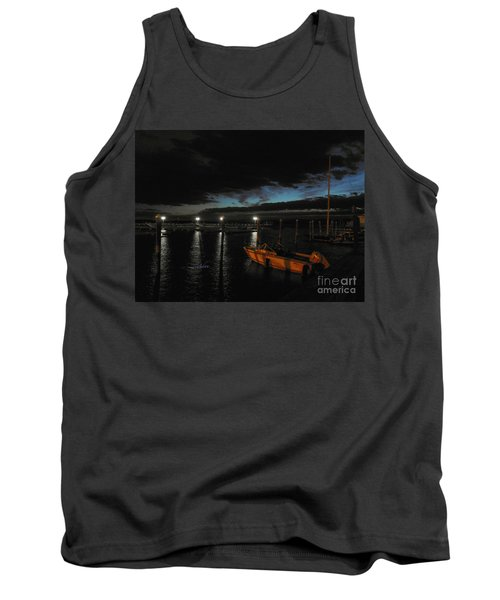 Perkins Pier Sunset Tank Top