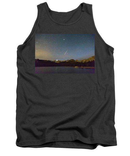 Tank Top featuring the photograph Perseid Meteor Shower Indian Peaks by James BO Insogna