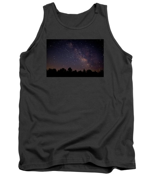 Tank Top featuring the photograph Perseid Meteor Shower by Jean Haynes