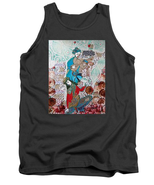 Persian Painting # 1 Tank Top by Sima Amid Wewetzer