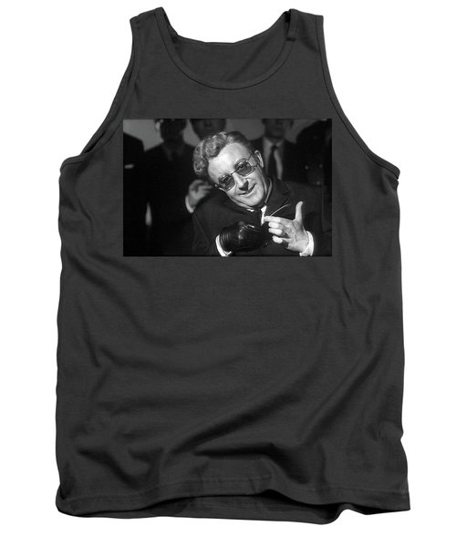 Peter Sellers As Dr. Strangelove Number One Color Added 2016 Tank Top