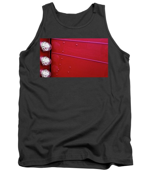 Peterbuilt Hood And Lamps Tank Top by Jerry Sodorff