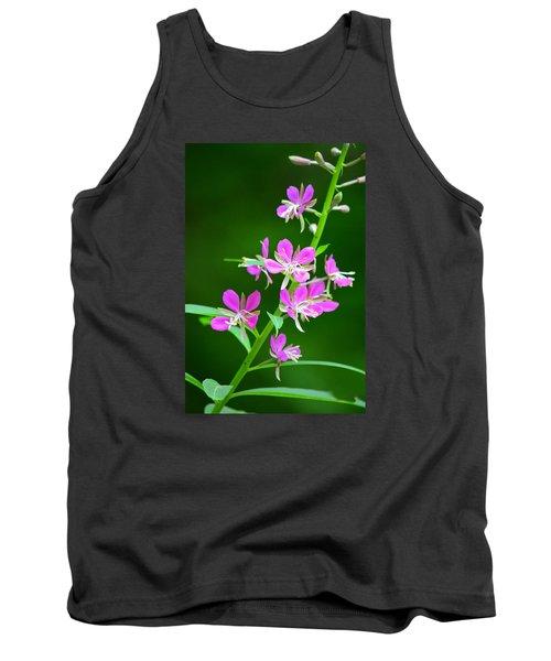 Petites Fleurs Violettes Tank Top