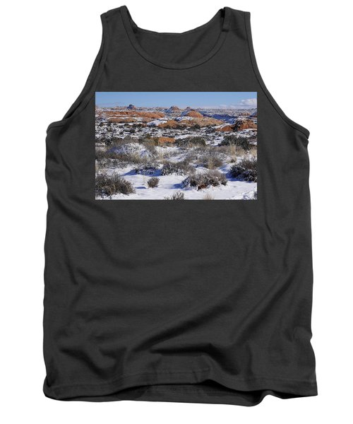 Petrified Dunes At Arches National Park Tank Top