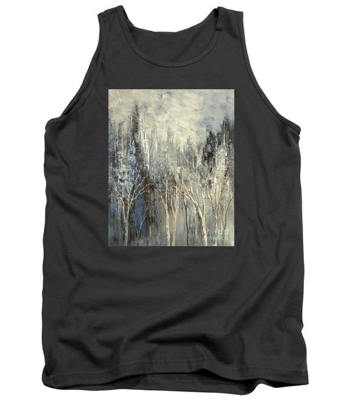 Tank Top featuring the painting Phantom Glory by Tatiana Iliina