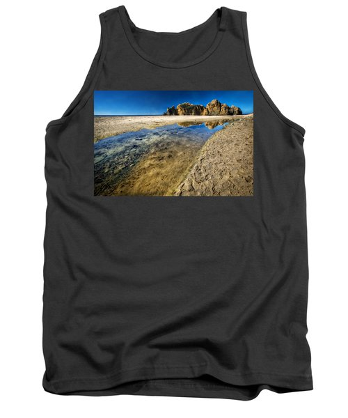 Tank Top featuring the photograph Pheiffer Beach- Keyhole Rock #19 - Big Sur, Ca by Jennifer Rondinelli Reilly - Fine Art Photography