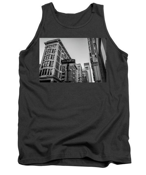 Tank Top featuring the photograph Philadelphia Urban Landscape - 0980 by David Sutton