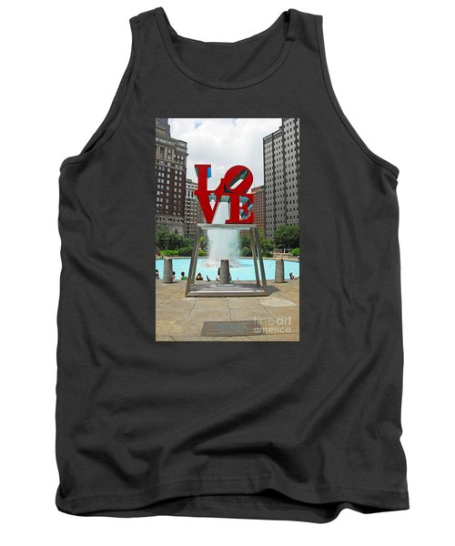 Philadelphia's Love Park Tank Top