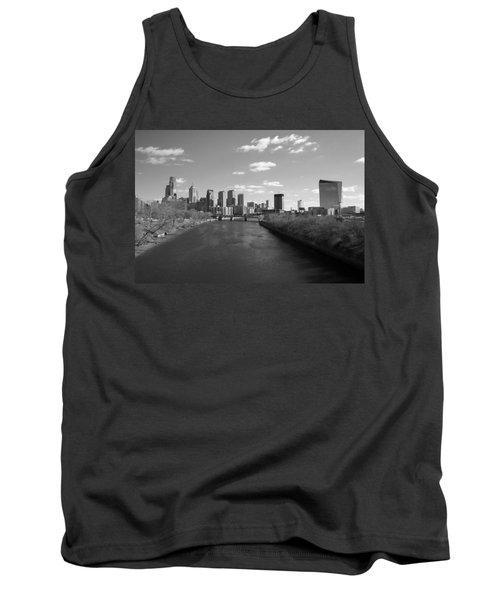 Philly B/w Tank Top by Jennifer Ancker