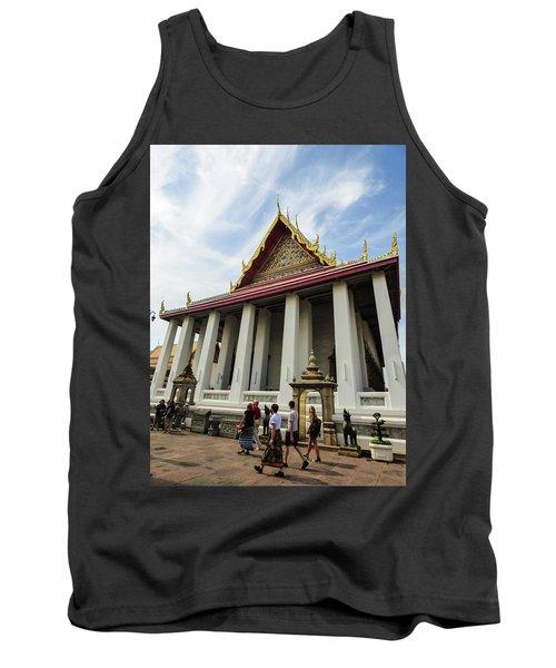 Phra Ubosot At Wat Pho Temple Tank Top