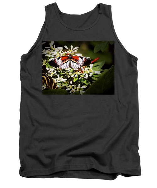 Piano Key 3 Tank Top by Penny Lisowski