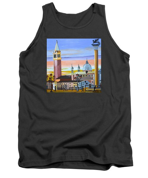 Piazza San Marco Tank Top by Donna Blossom
