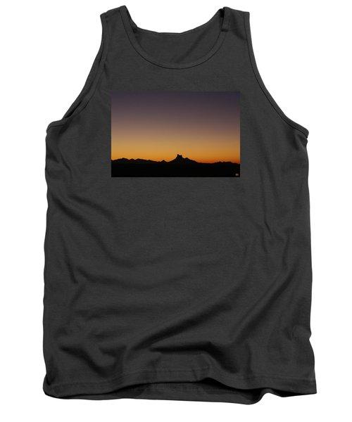 Picacho Peak Sunset Tank Top