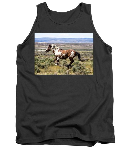 Picasso - Free As The Wind Tank Top by Nadja Rider