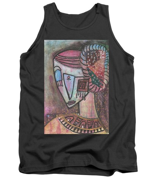 Picasso Inspired Tank Top
