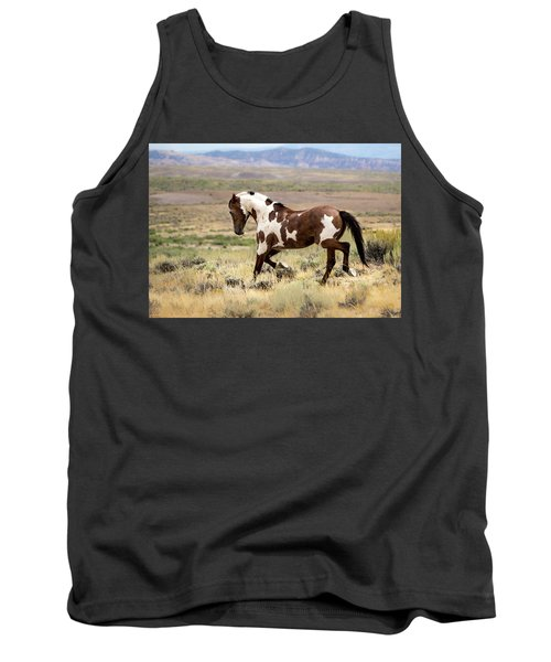 Picasso Strutting His Stuff Tank Top