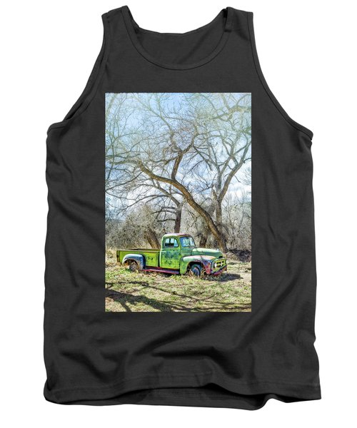Pickup Under A Tree Tank Top