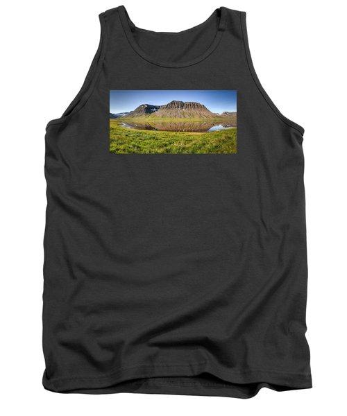 Picnic - Panorama Tank Top by Brad Grove