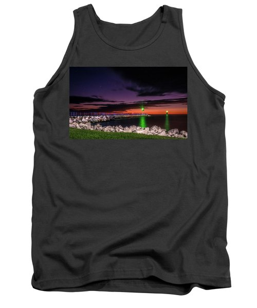 Pier And Lighthouse Tank Top