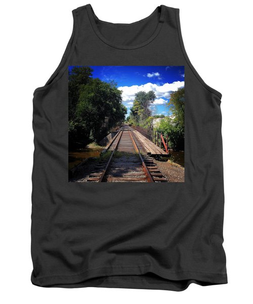 Pine River Railroad Bridge Tank Top