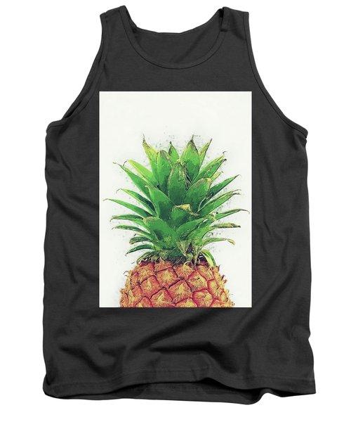 Pineapple Tank Top by Taylan Apukovska