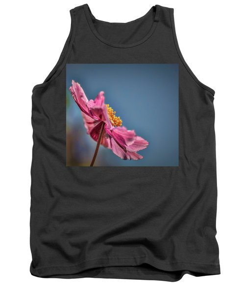 Pink And Yellow Profile #h8 Tank Top