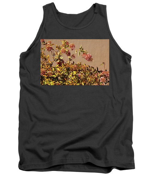 Pink Autumn Tank Top