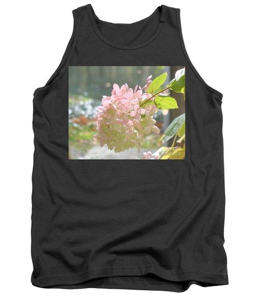 Pink Bloom In Sun Tank Top by Christina Verdgeline