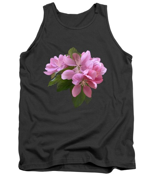 Pink Blossoms Tank Top by Ivana Westin