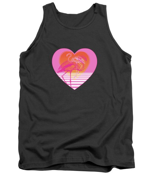 Pink Flamingos Tank Top by Eclectic at HeART