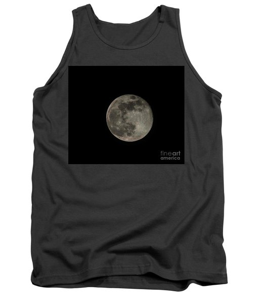Tank Top featuring the photograph Pink Moon by David Bearden
