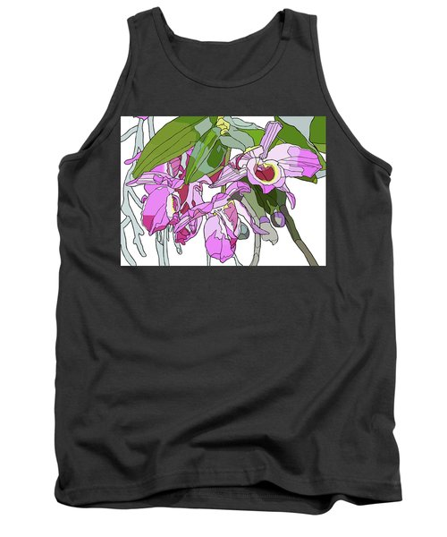 Pink Orchid Bunch Tank Top