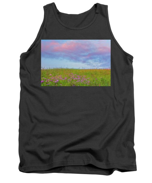 Pink  Over Pink  Tank Top by Marc Crumpler