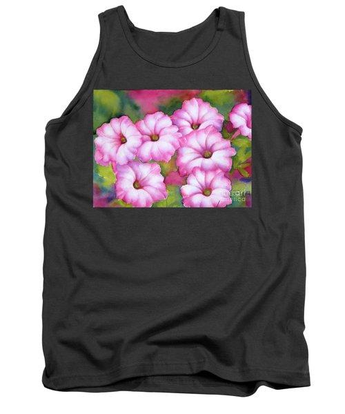 Pink Petunias Tank Top