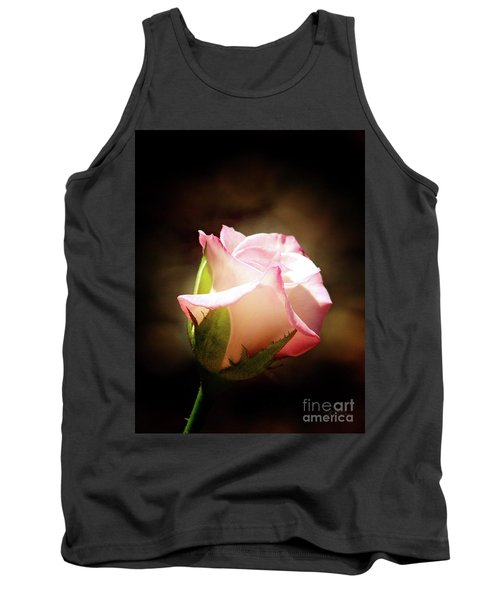 Pink Rose 2 Tank Top by Inspirational Photo Creations Audrey Woods