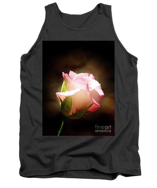 Pink Rose 2 Tank Top