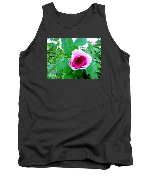 Tank Top featuring the photograph Pink Rose by Sadie Reneau