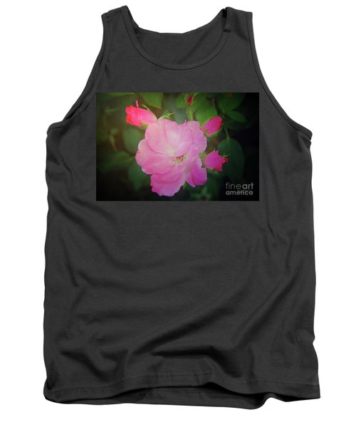 Pink Roses  Tank Top by Inspirational Photo Creations Audrey Woods